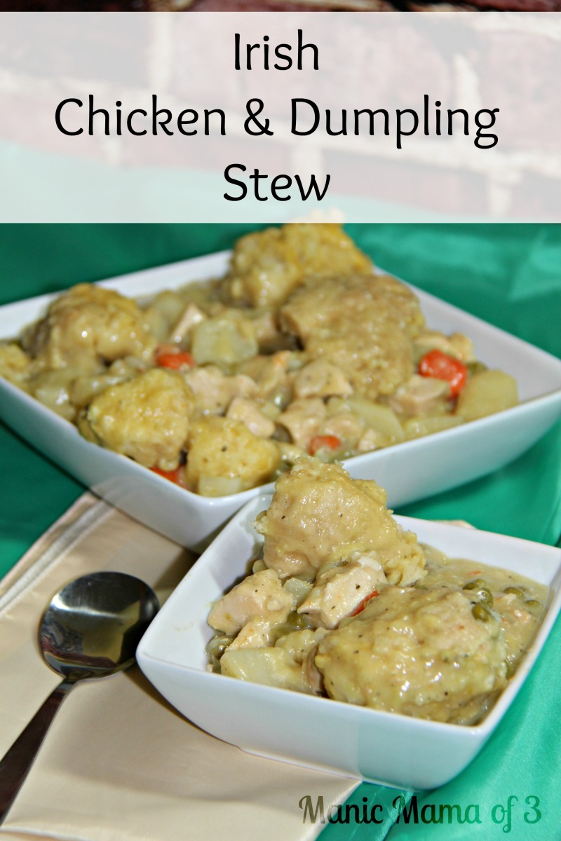 Irish Chicken & Dumpling Stew