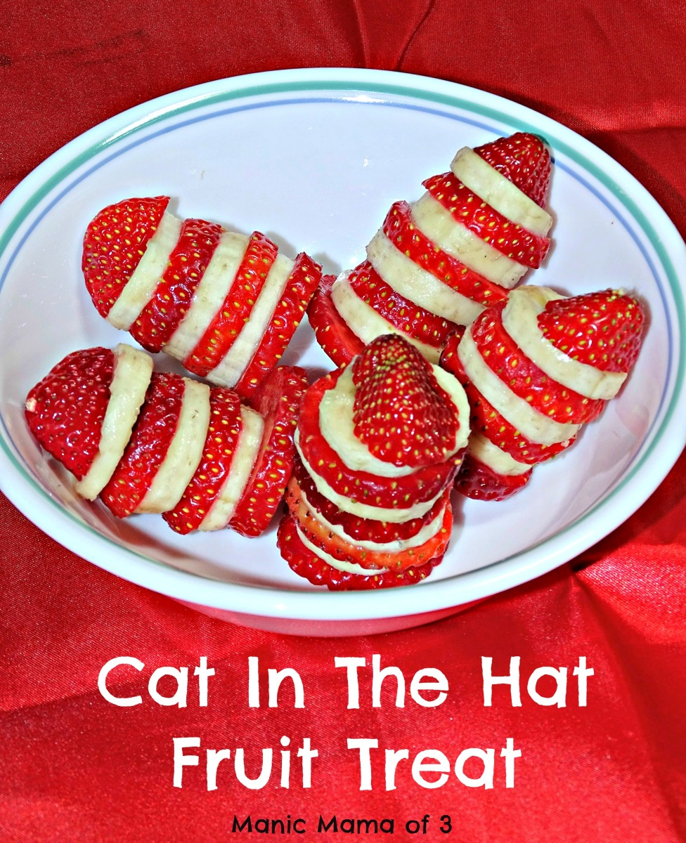 Cat In The Hat Fruit Treats