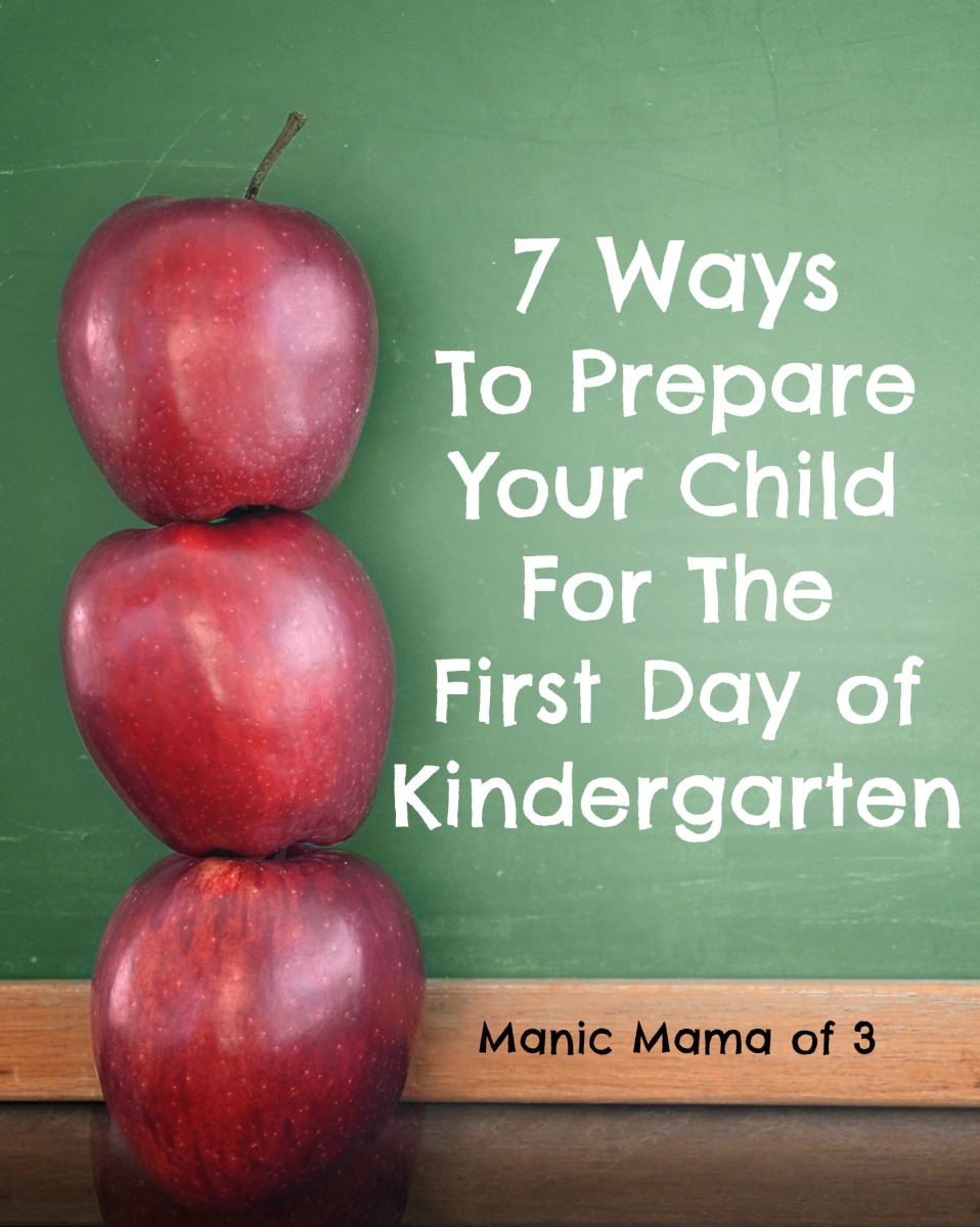 7 Ways to Prepare Your Child for Kindergarten