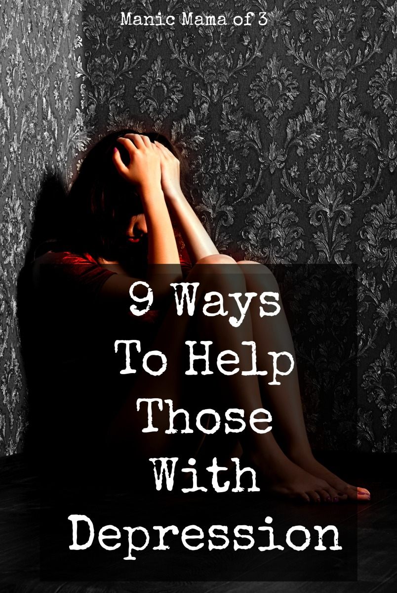 9 Ways to Help Those with Depression